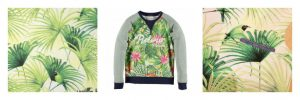 Tropical fabric