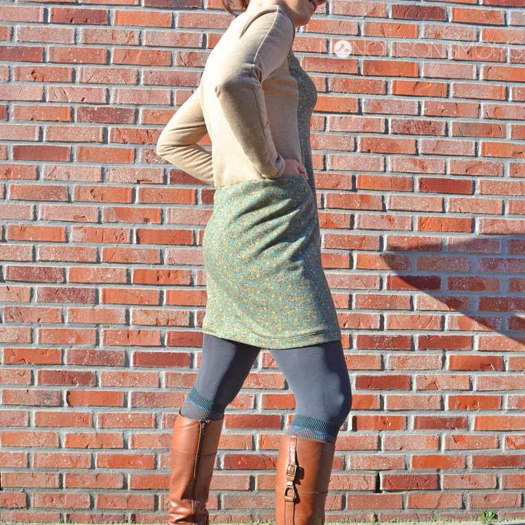 Indigo sweater jurk La Maison Victor Remi & Cosette for Teens