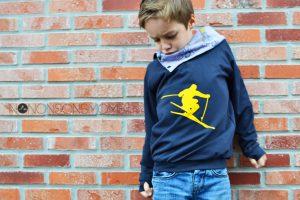 knippie sweater col omkeerbaar