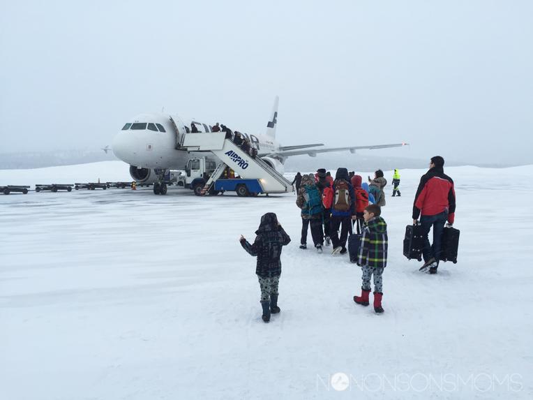 finnair Ivalo airport