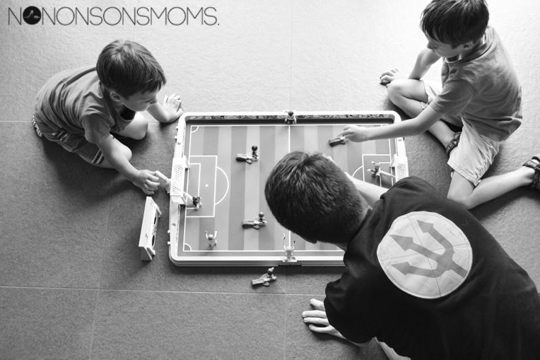 Playmobil meeneem voetbalstadion