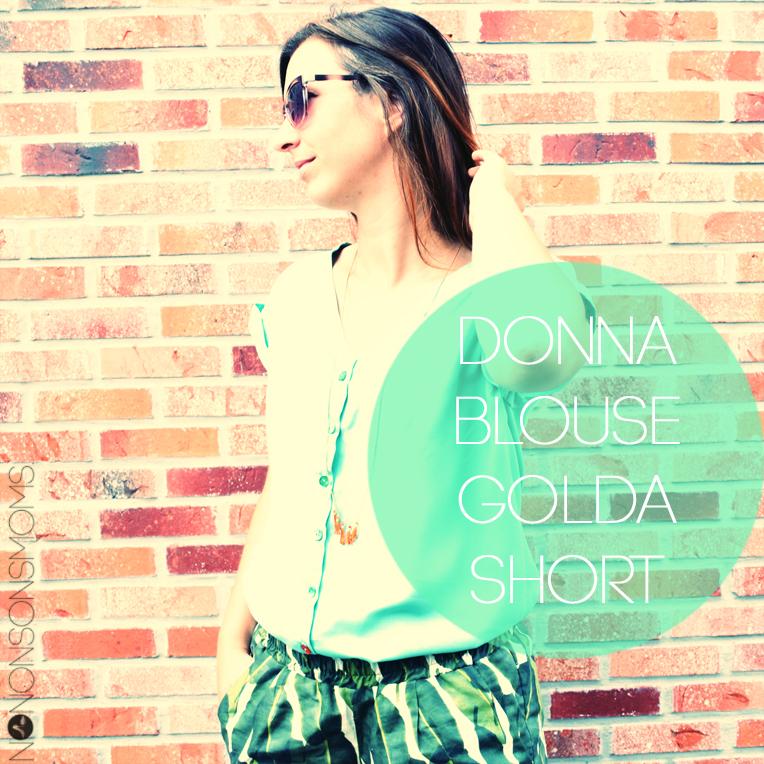 donna blouse golda short maankids la maison victor