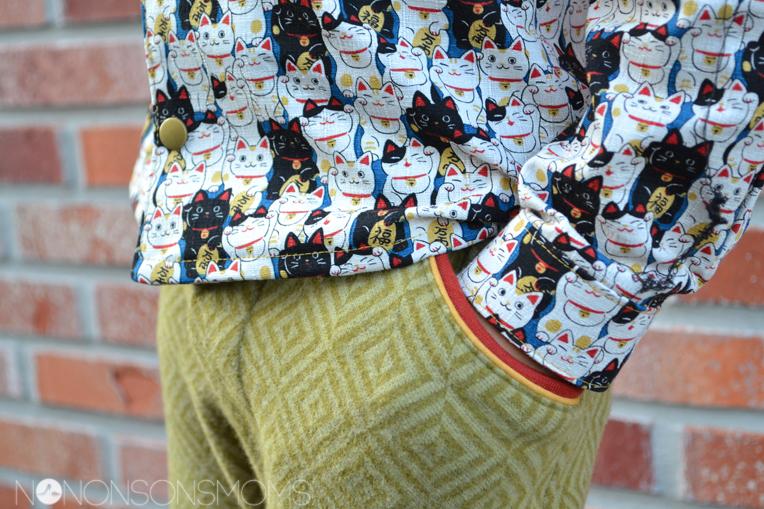 Theo Cisse Zonen 09 Maneki Neko Como textiles