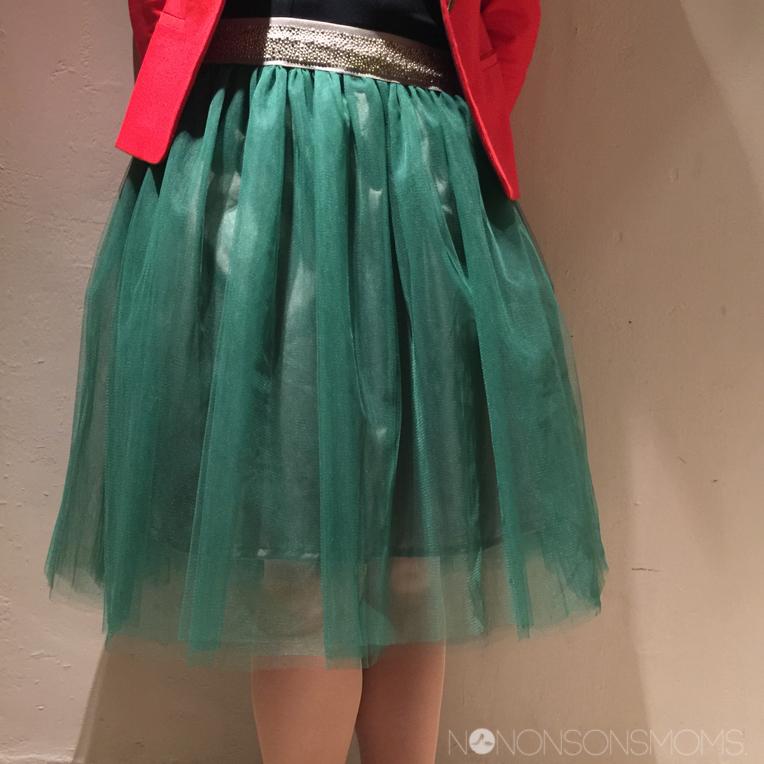tule rok zelfgemaakt