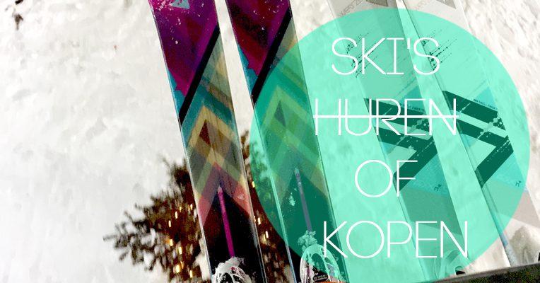 ski's huren of kopen
