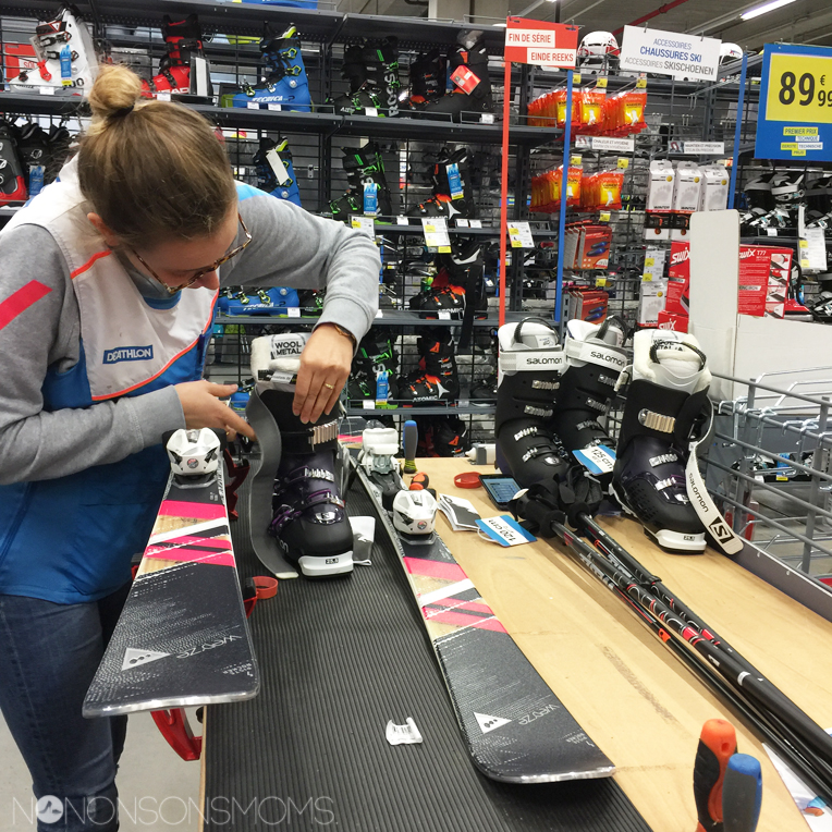 adix 7 wedze ski