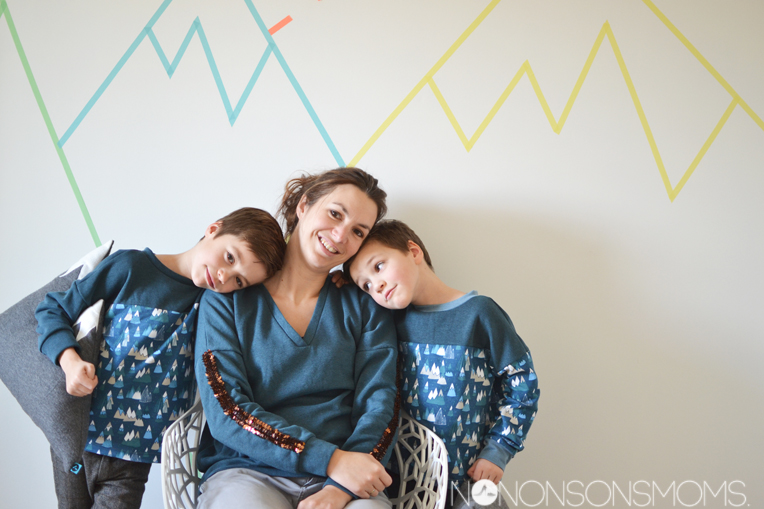 MOMM - matching outfits matching minds - a small things sweater