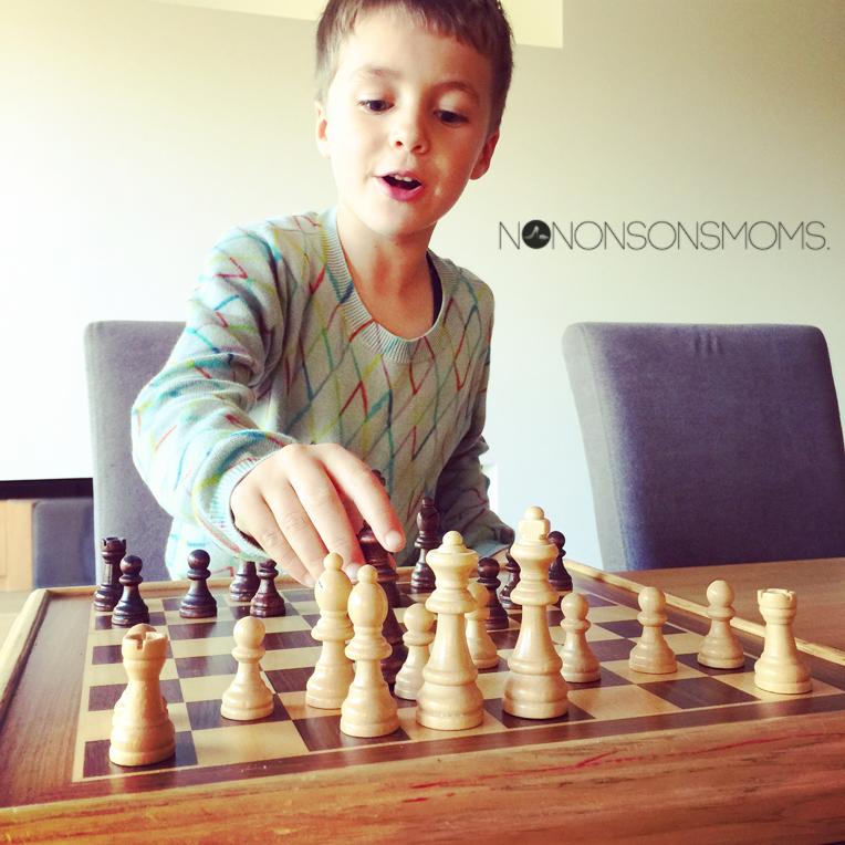 schaken met kinderen