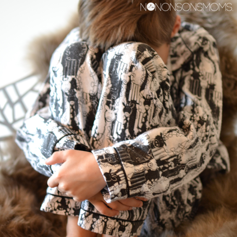Wolf zonen 09 flanellen pyjama