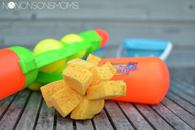sponsballen diy waterspelletjes