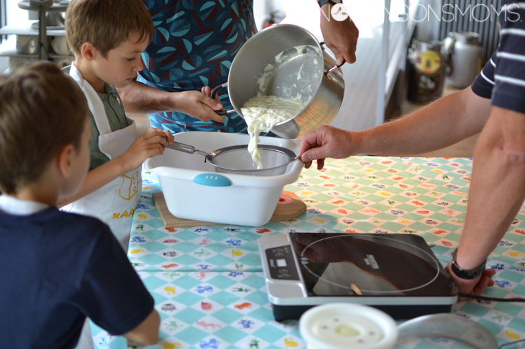 workshop kaas maken De oude kaasmakerij Passendale
