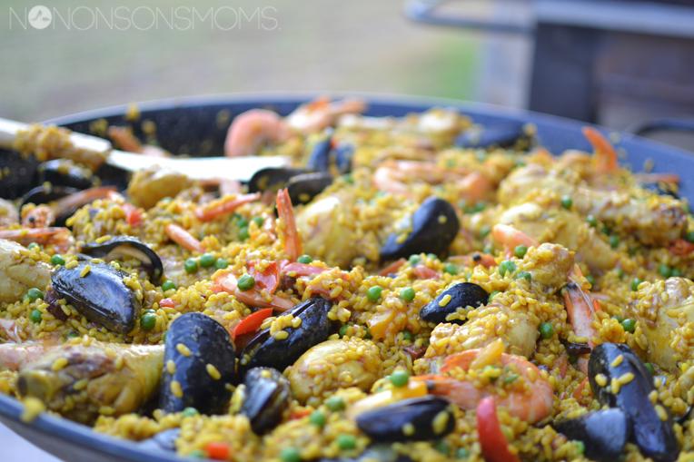 eenvoudig en superlekker recept Paella
