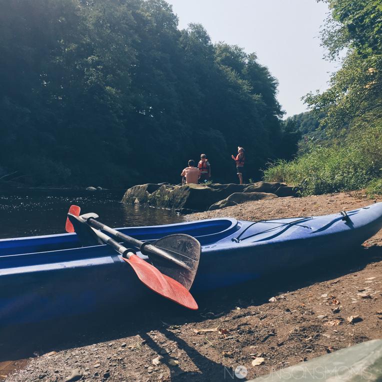 Kayak met kinderen - camping du rivage Wallendorf