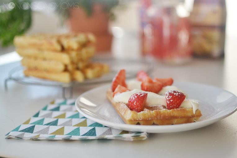 recept mini Brusselse wafels - belgetariër carrefour