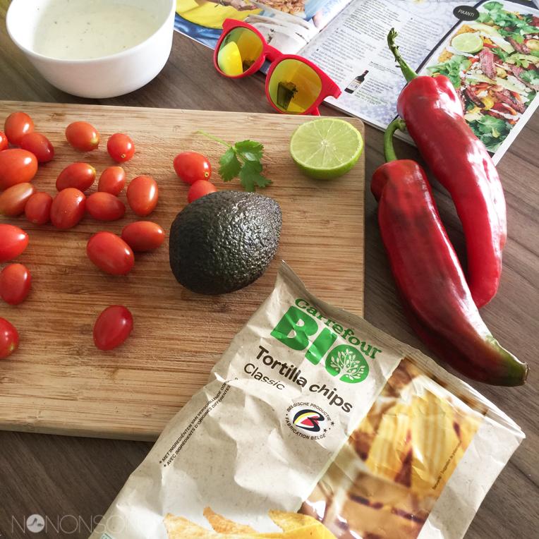 bio tortillachips carrefour - recept carne asada