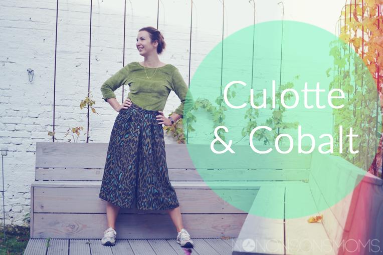 Cobalt trui van Blou en Milly broek van La Maison Victor
