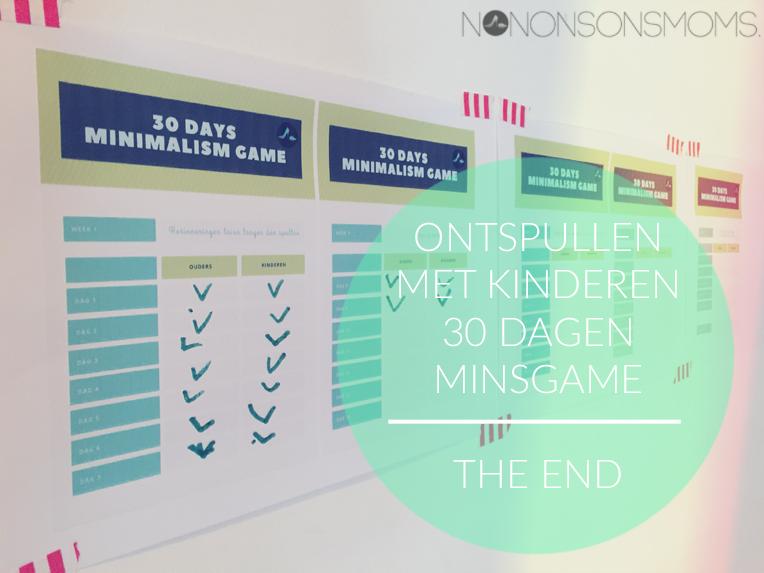 minimalisme - ontspullen met kinderen