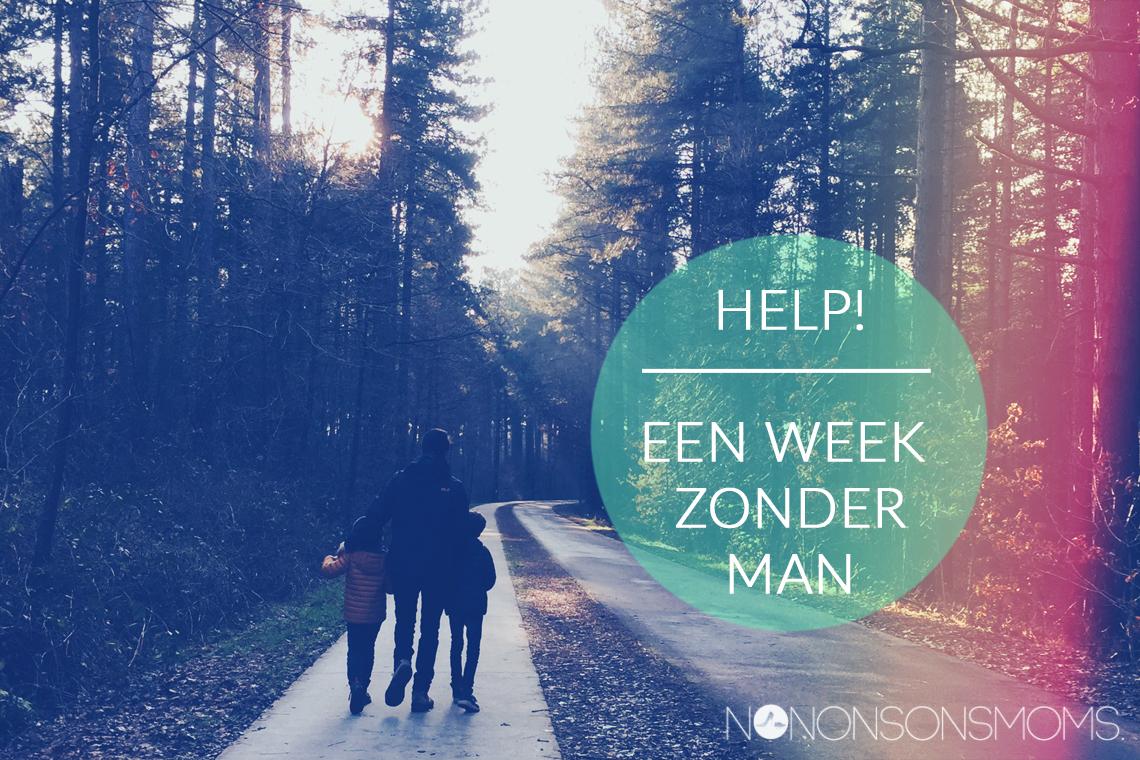 Een week zonder man met zelfcompassie
