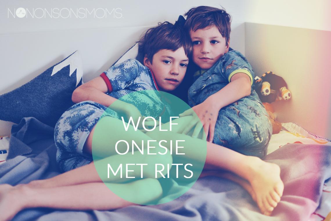 wolf hack - zonen 09 in stoffen van Megan Blue Fabrics