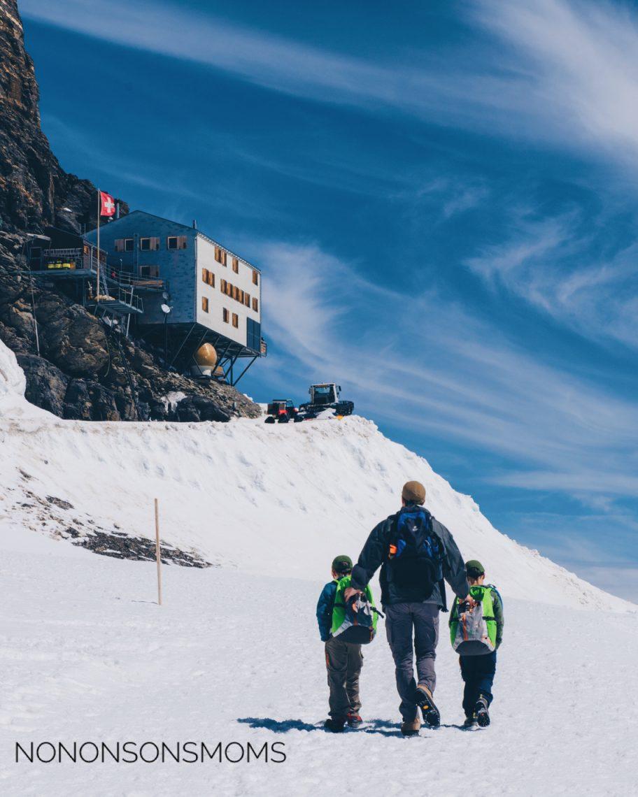 Mönchsjochhütte Intersoc Wengen
