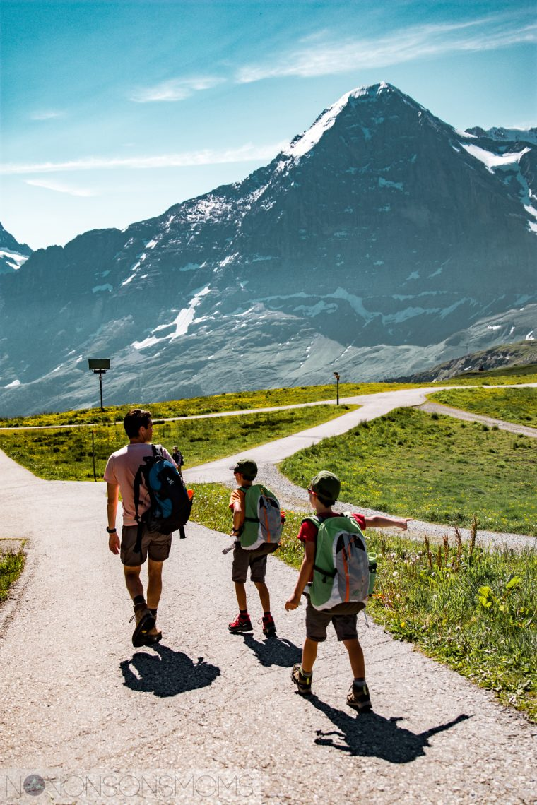 Intersoc bergvakantie met kinderen Wengen