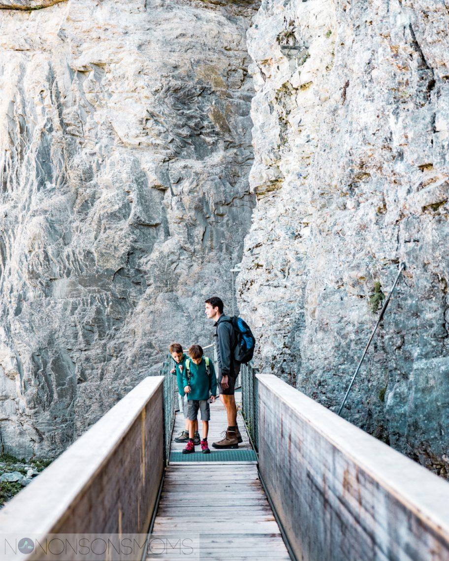Intersoc bergvakantie met kinderen