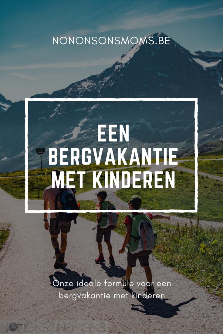 Een bergvakantie met kinderen - Intersoc