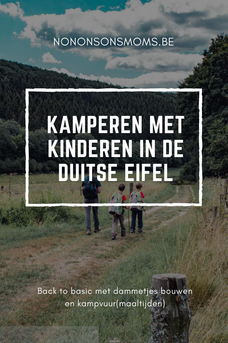 Kamperen met kinderen in de Duitse Eifel - back to basic