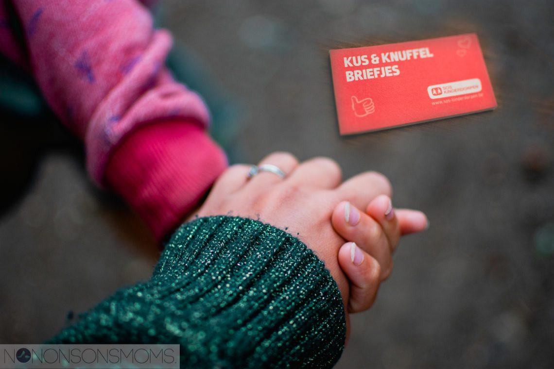 SOS Kinderdorpen Kus & Knuffel briefjes