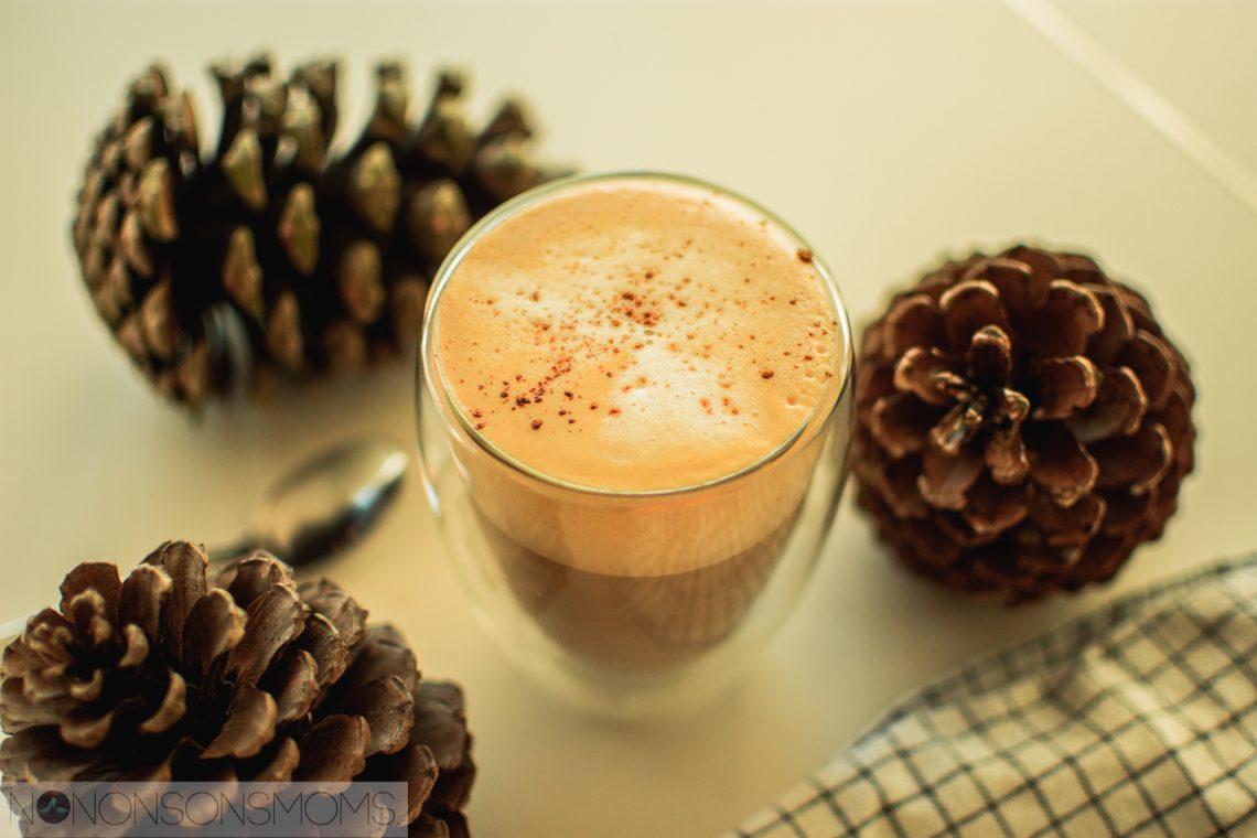 vegan pumpkin spice latte / cappucino