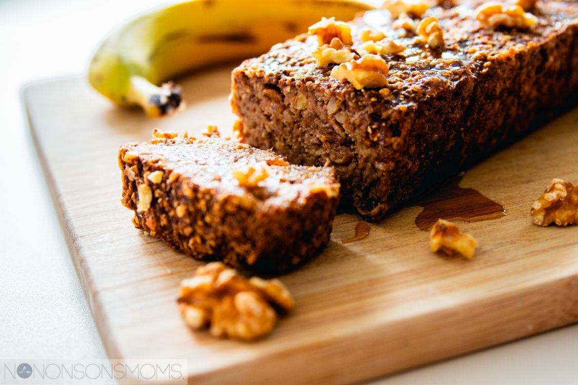 bananen cake ontbijtcake - plantaardig vegan - hello fresh