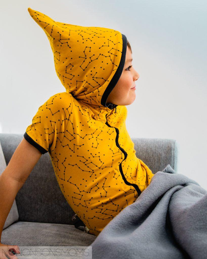 Wolf pyjama hack onesie - pinnemuts puntkap