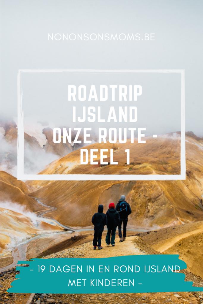 een roadtrip door IJsland met kinderen - de route
