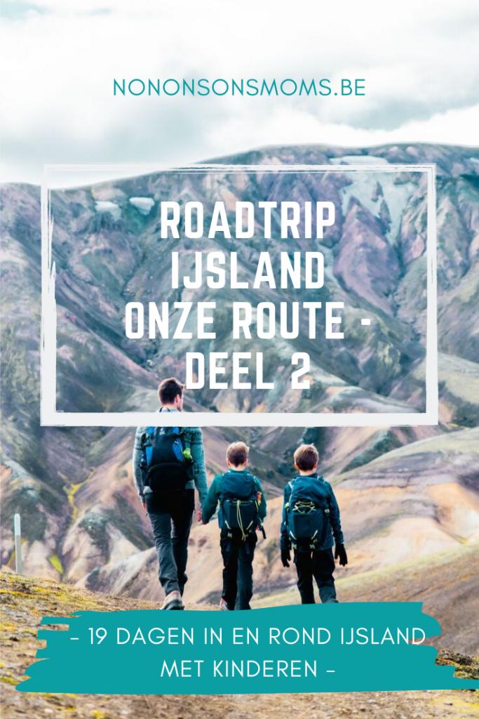 roadtrip IJsland met kinderen - de route