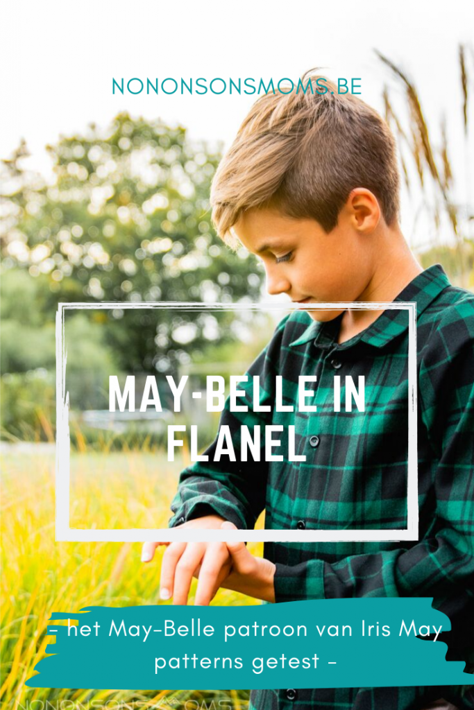 May-Belle in flanel