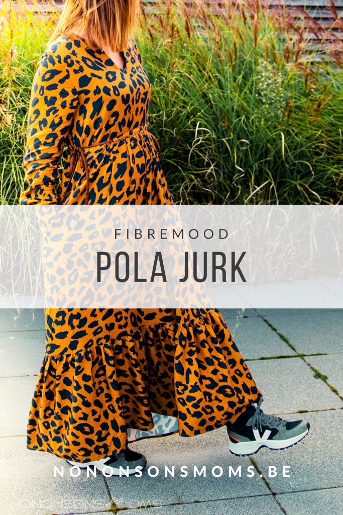 Fibremood - pola jurk - Mind The maker