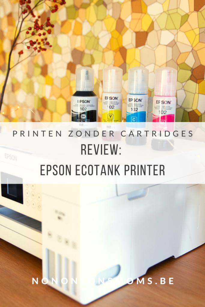 epson ecotank - printen zonder inkt cartridges - review