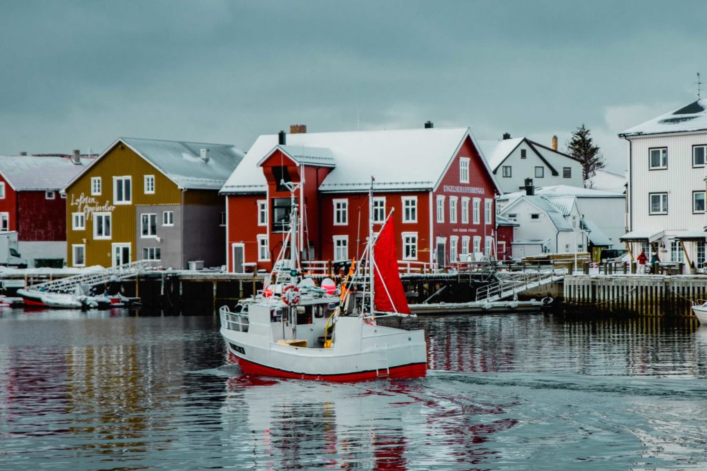 minitrip naar de Lofoten - reizen - winter